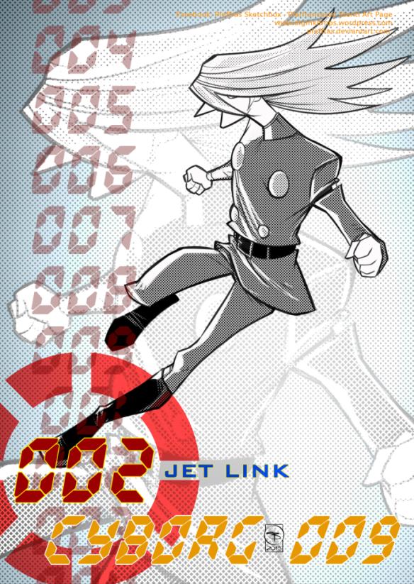 CYBORG 009 - JET LINL 002